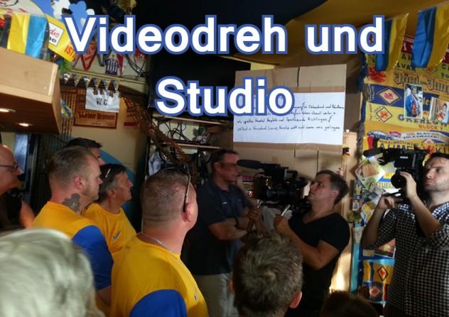 Videodreh und Studio
